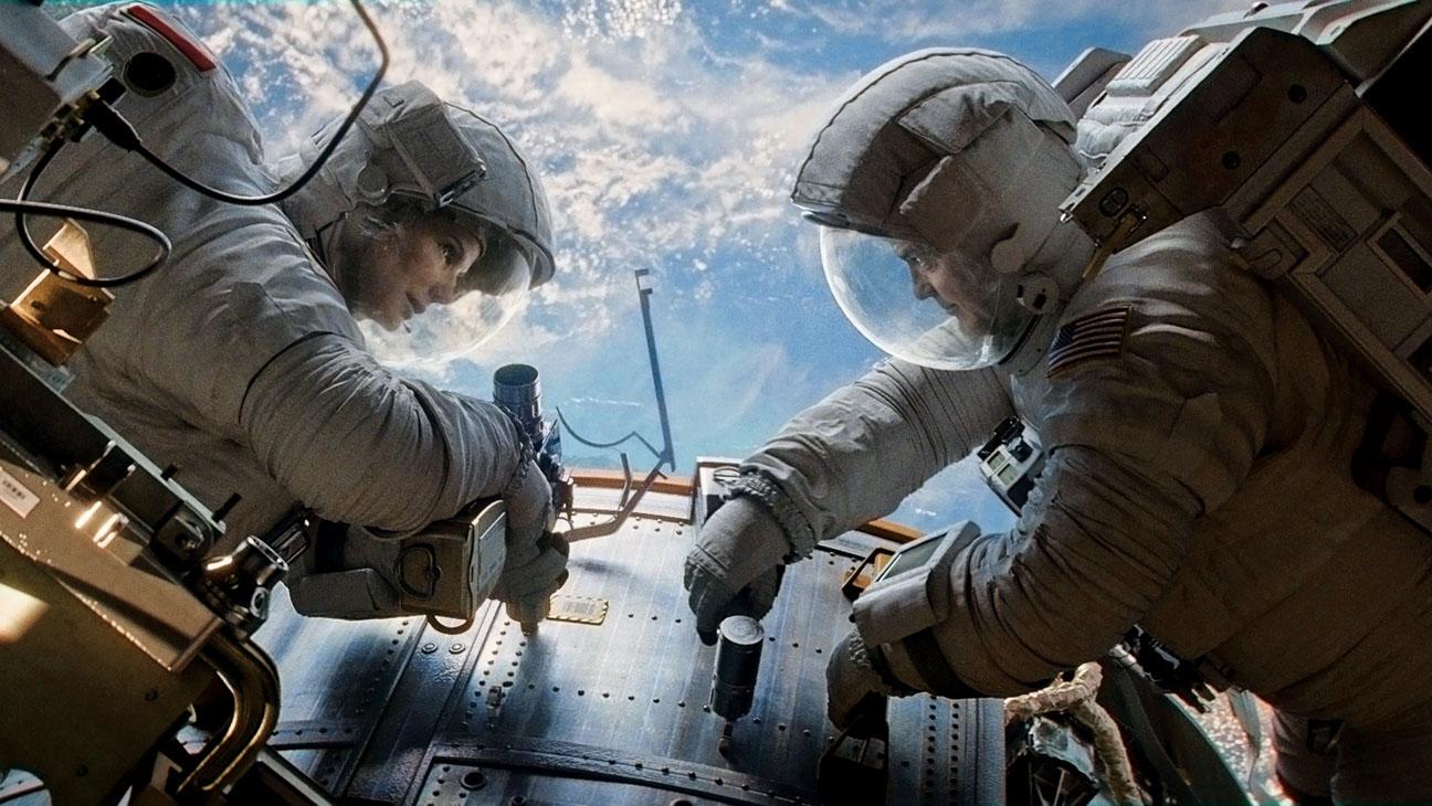 Gravity Film Still Sandra Bullock - H 2013