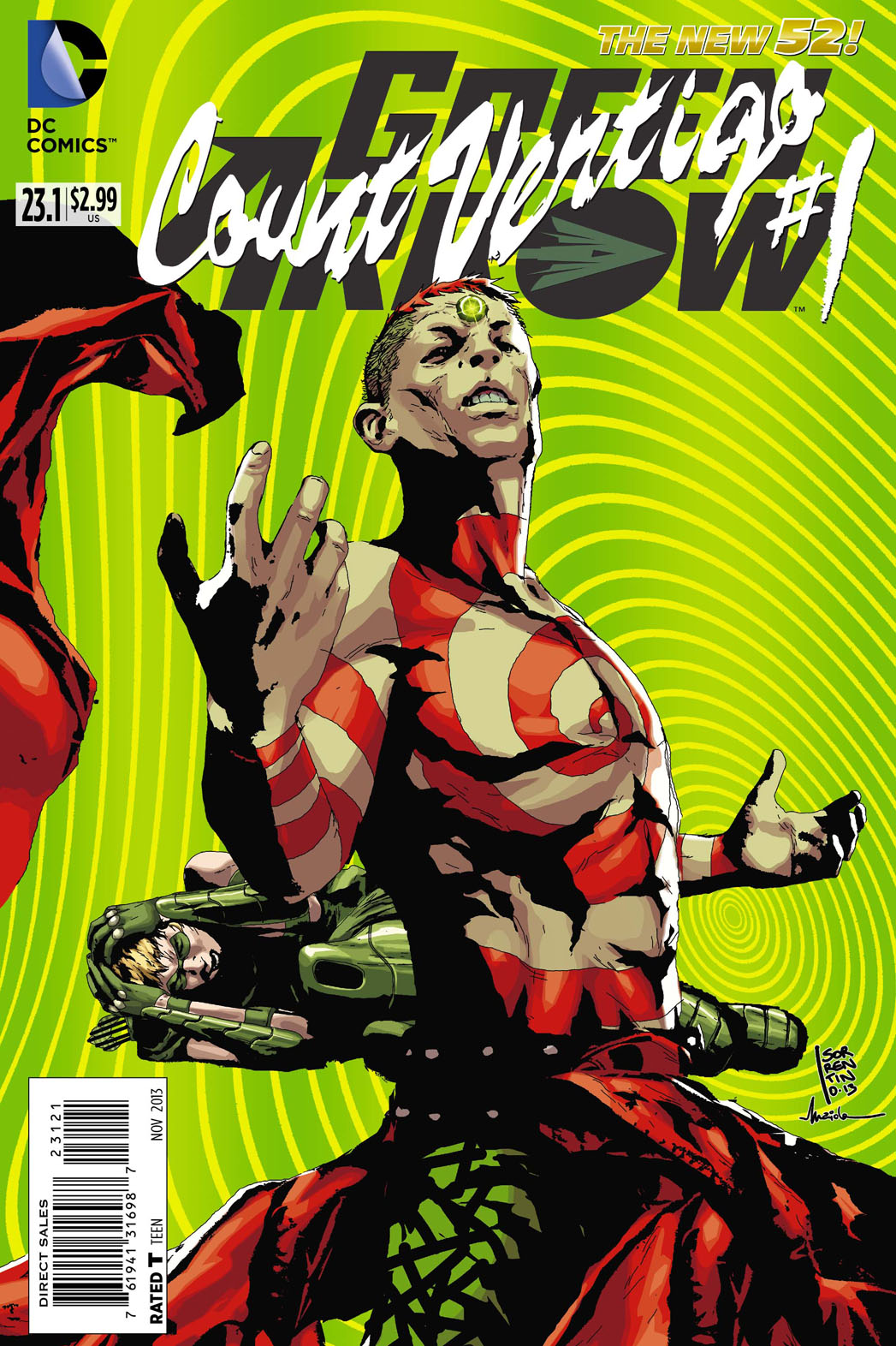 Green Arrow Count Vertigo Cover - P 2013