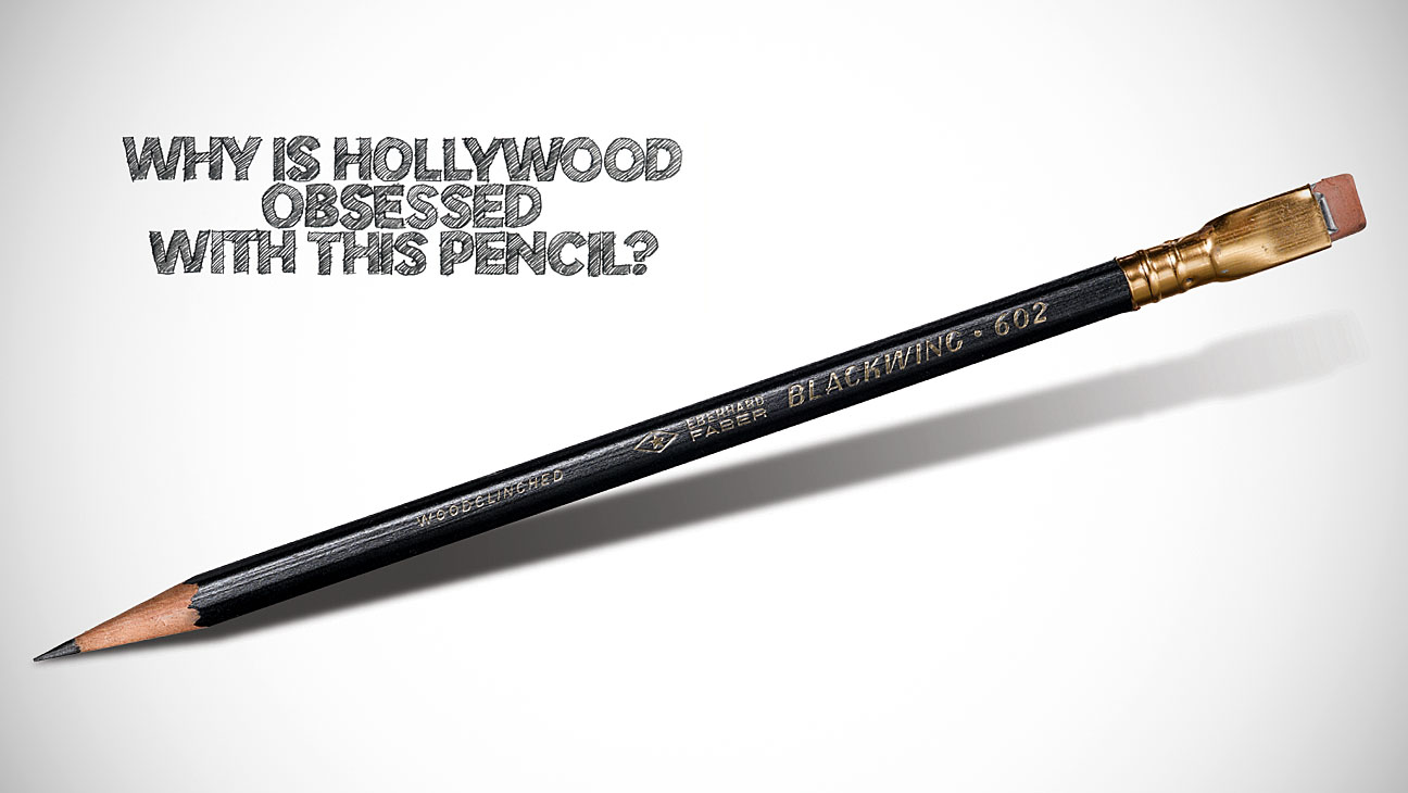 Why is Hollywood Obsessed with this Pencil? - H 2013