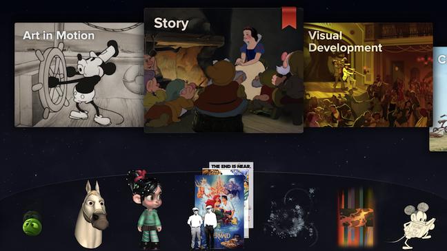 Disney Animated iPad App H