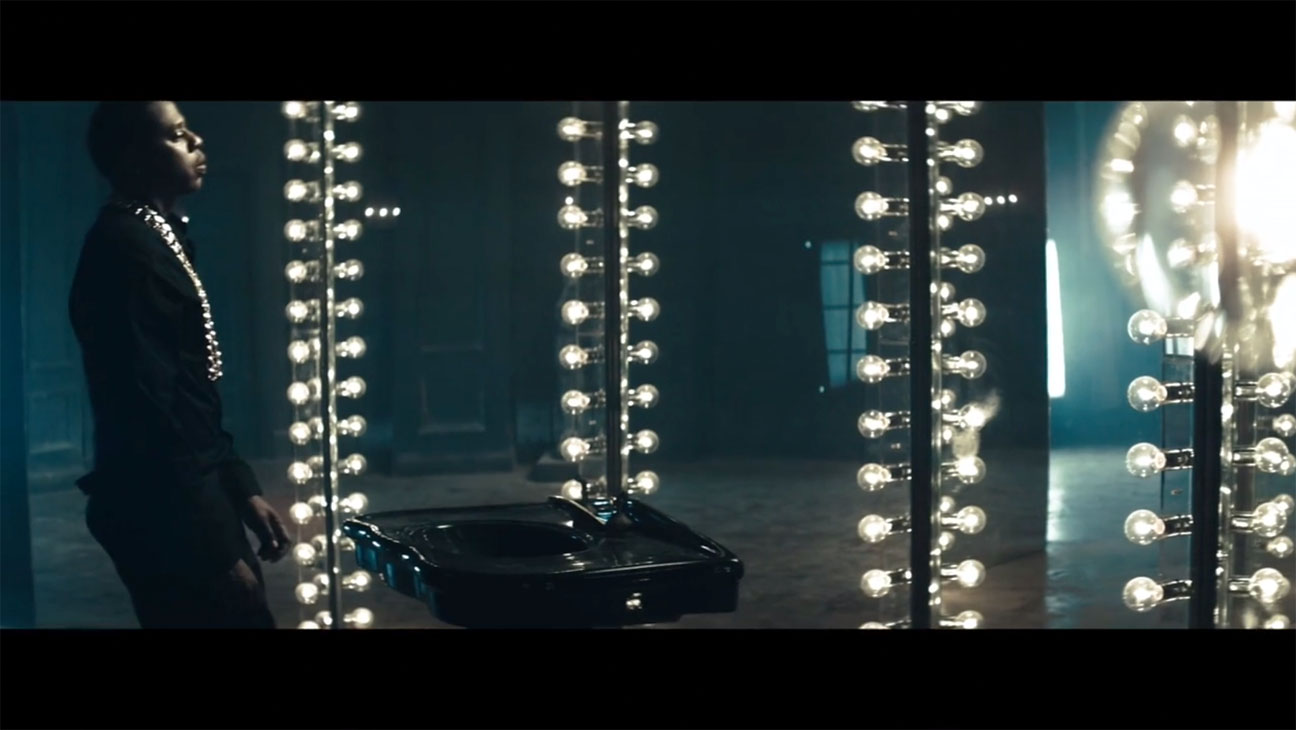 Jay Z Holy Grail Visual Screengrab - H 2013