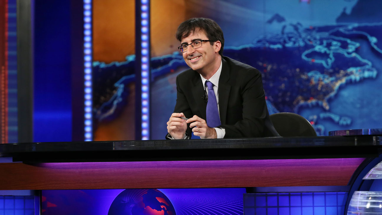 John Oliver The Daily Show - H 2013