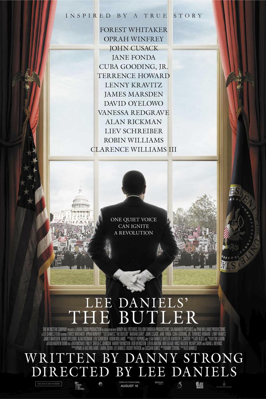 Lee Daniels' The Butler one sheet - P 2013