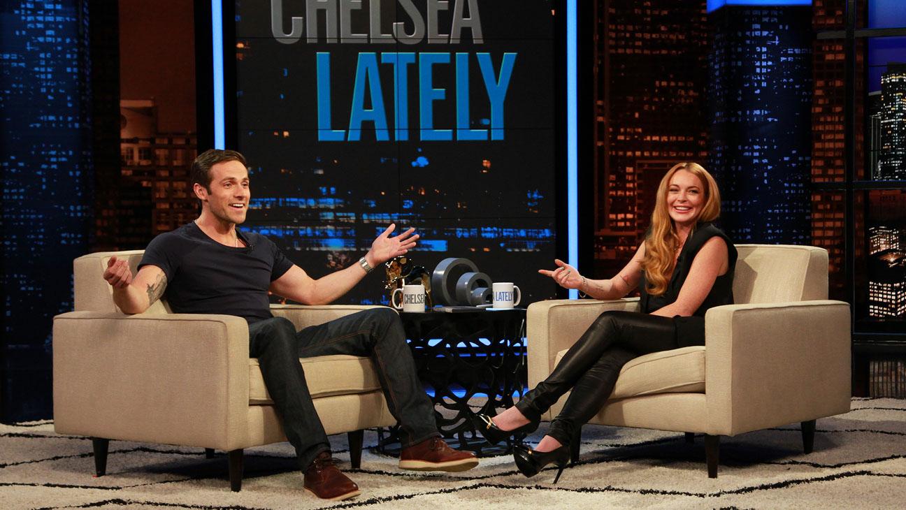 Lindsay Lohan Hosting Chelsea Lately - H 2013