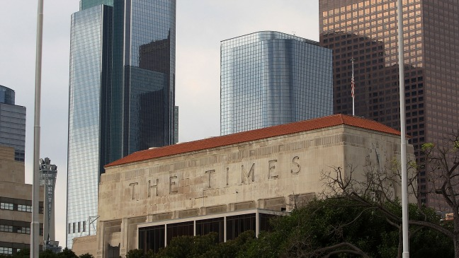 Los Angeles Times Building - H - 2013