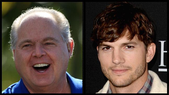 Rush Limbaugh Ashton Kutcher Split - H 2013
