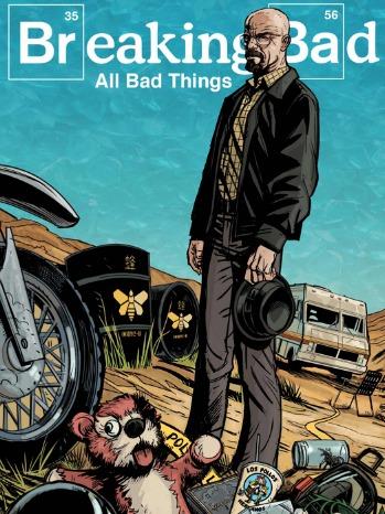 Breaking Bad Comic Book Cover - P 2013