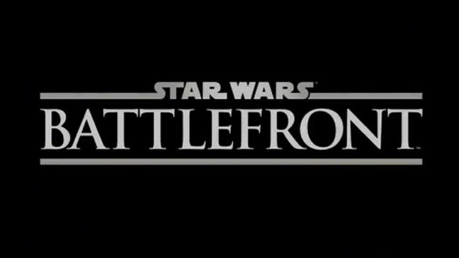 Star Wars Battlefront Logo - H 2013