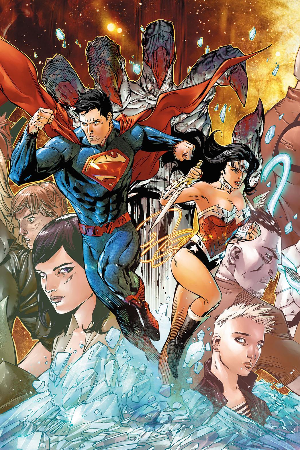 Superman Wonder Woman Comic - P 2013