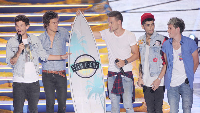 One Direction - Teen Choice Awards - P 2013