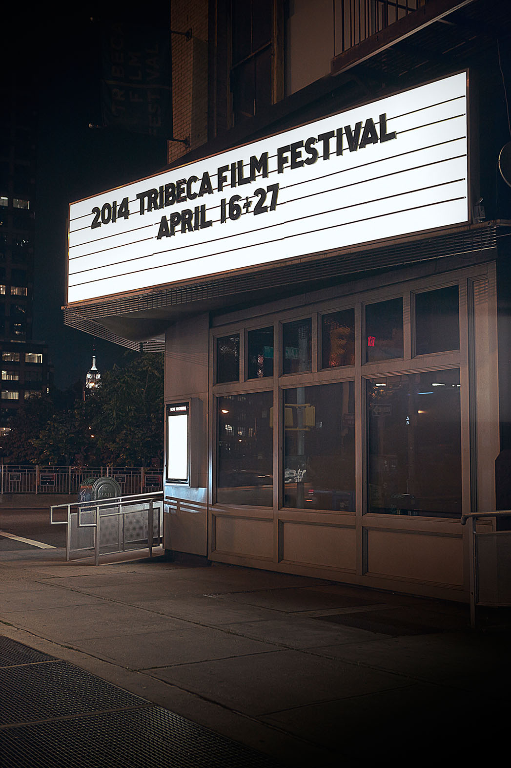 Tribeca 2014 Marquee - P 2013