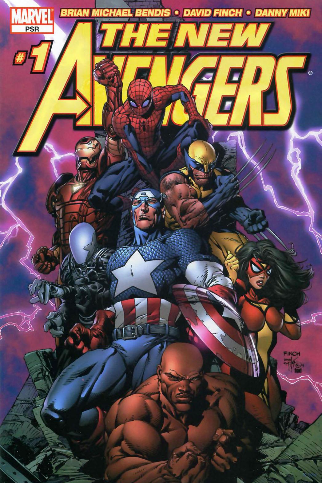 The Avengers Comic Art - P 2013