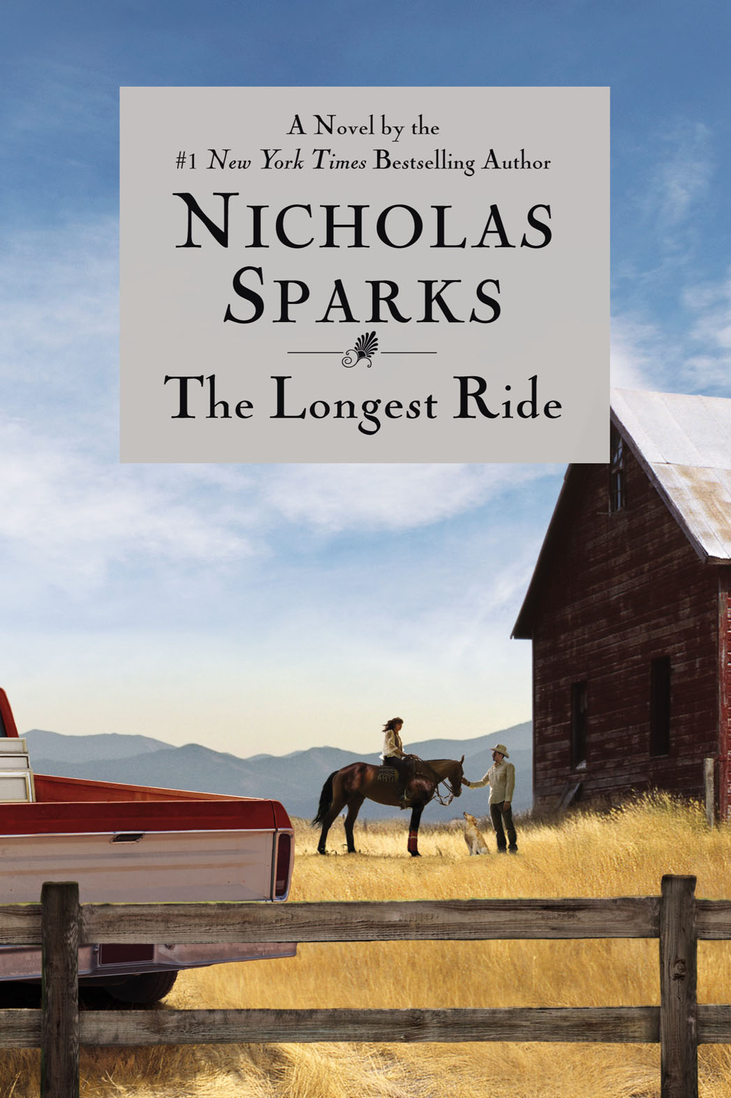 The Longest Ride Book Cover - P 2013