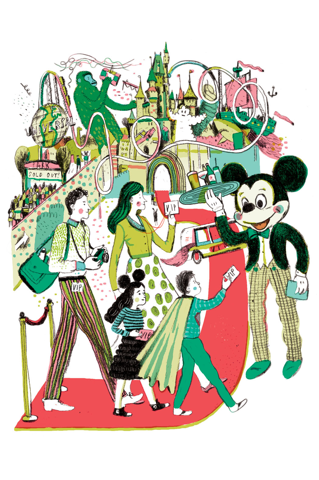 Disney Universal Illustration - P 2013