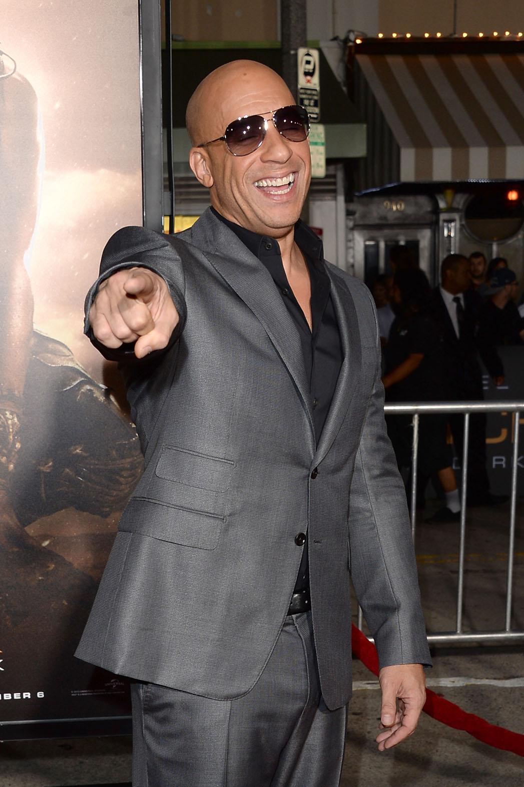 Vin Diesel Riddick Premiere - P 2013