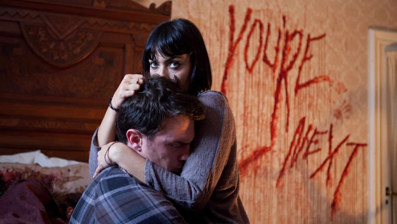 You're Next Blood on Wall - H 2013