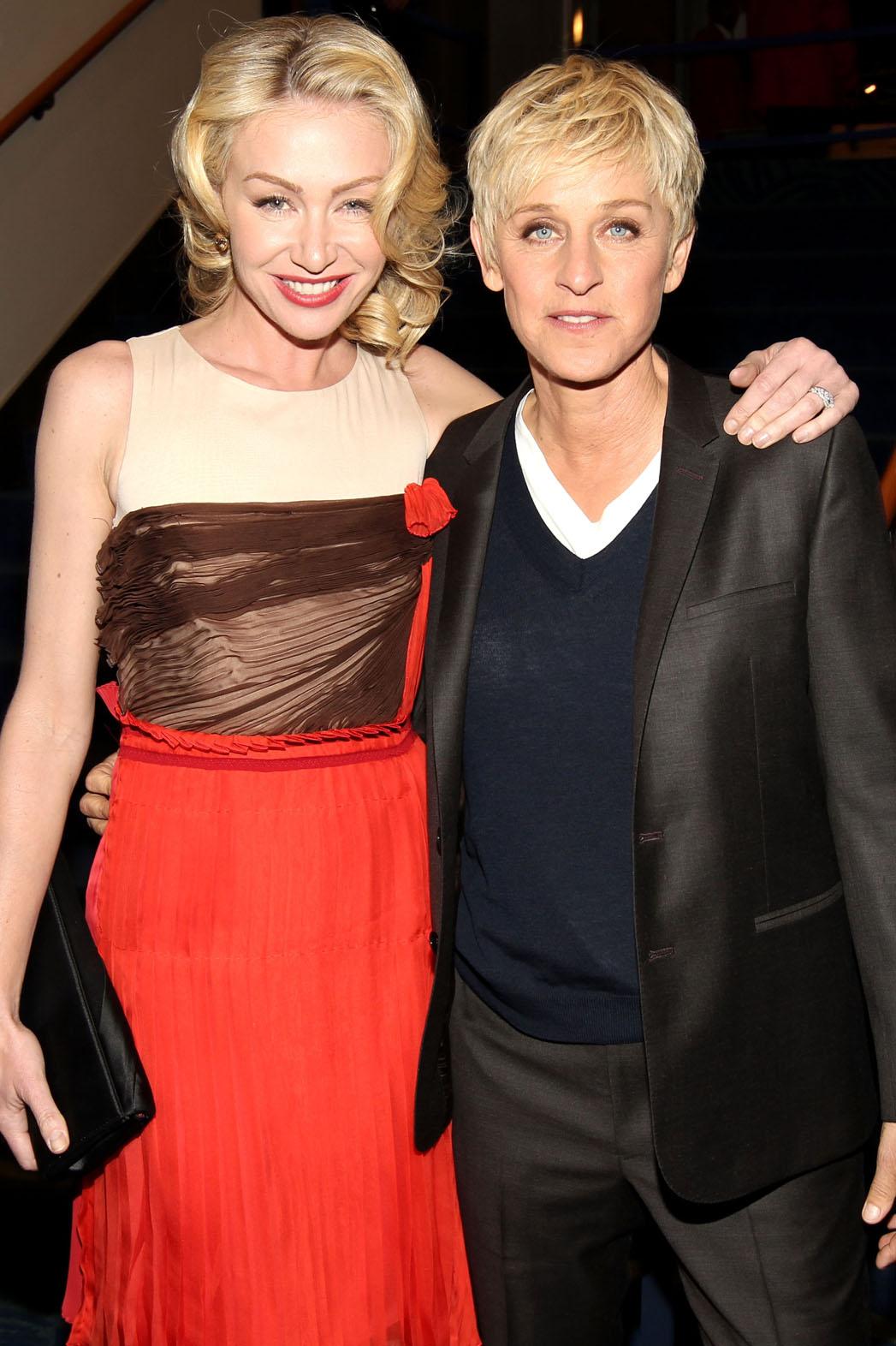 Ellen DeGeneres Portia de Rossi - P 2013
