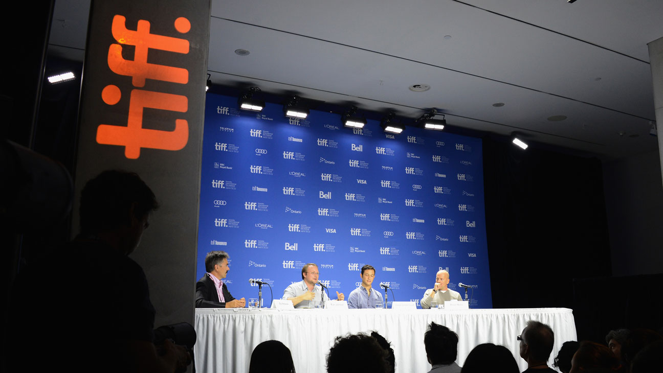 TIFF Logo Panel and Crowd - H 2013