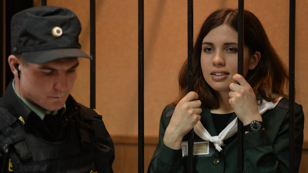Pussy Riot member Nadezhda Tolokonnikova H