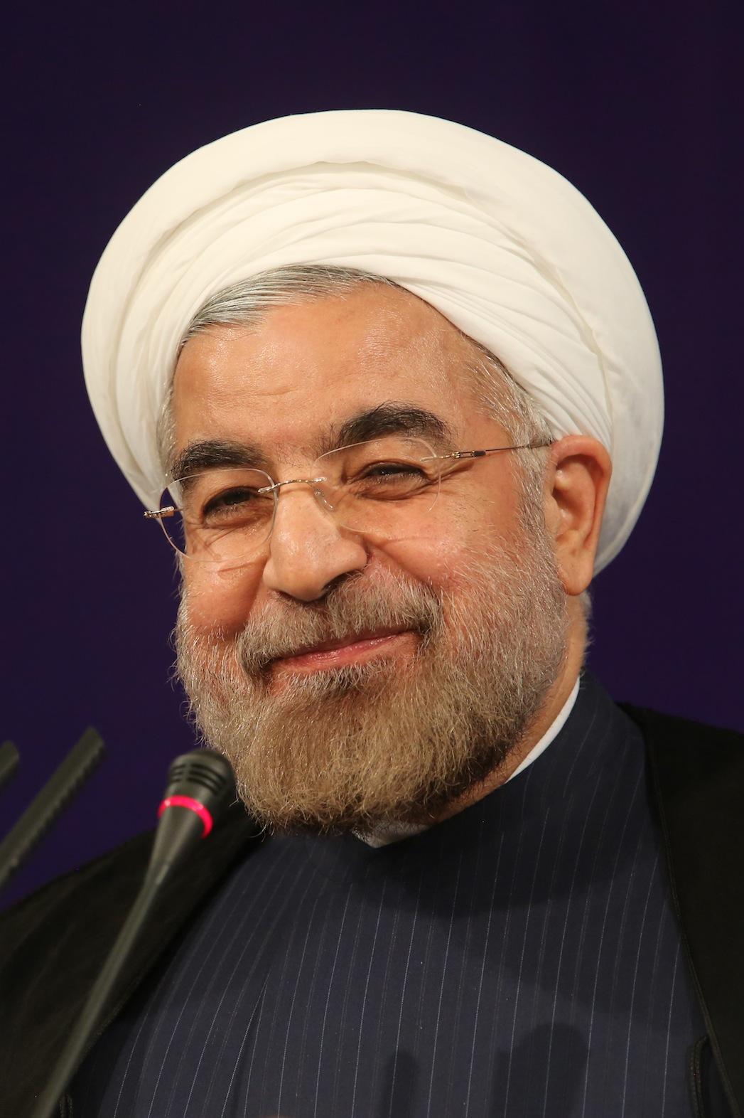 Hassan Rouhani President of Iran 2013 P