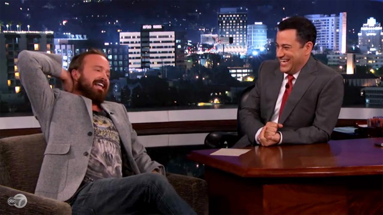 Jimmy Kimmel Live Aaron Paul - H 2013