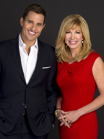 America Now hosts Bill Rancic and Leeza Gibbons - P 2013