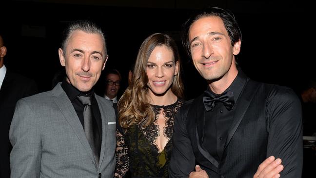 Amfar gala - Alan Cumming, Hilary Swank, Adrien Brody - H 2013