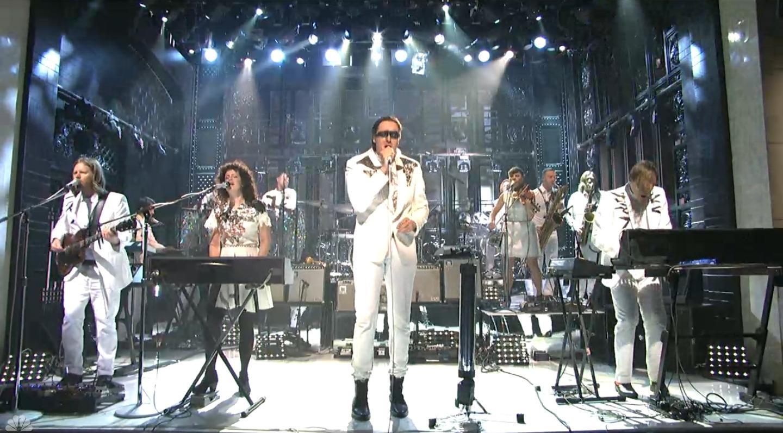 Arcade Fire SNL - H - 2013