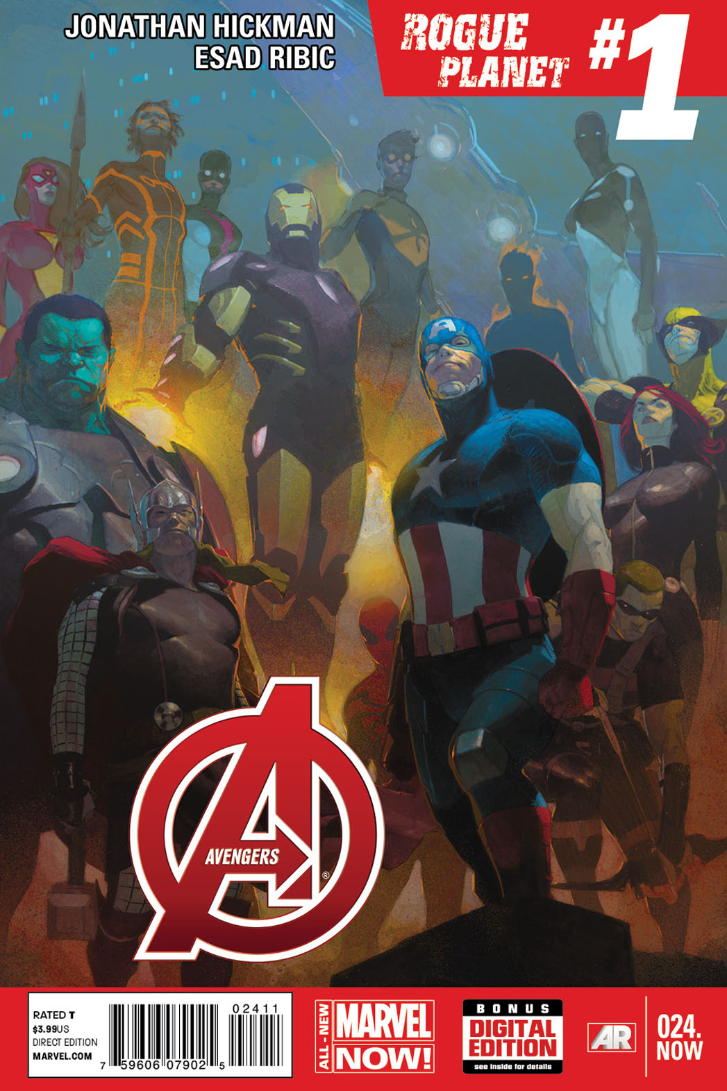 Avengers 24 NOW Cover - P 2013