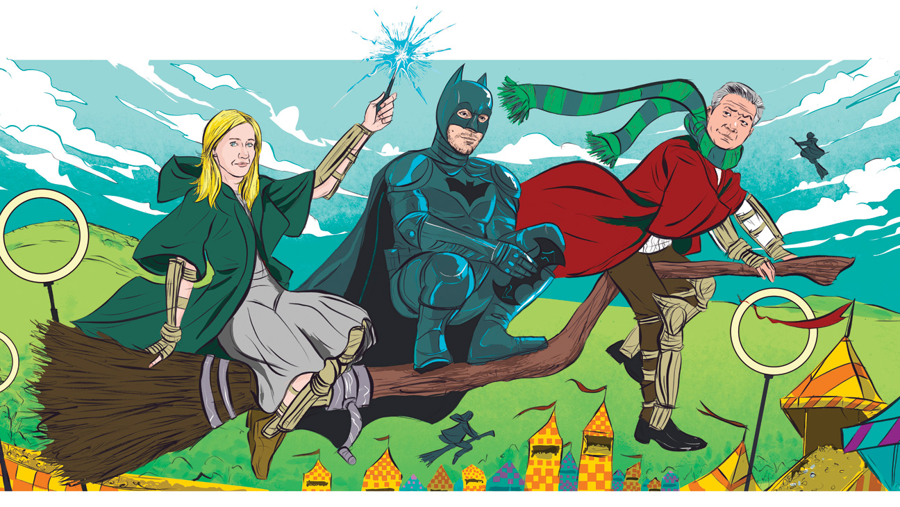 Issue 33 REP Warner Bros. Batman Potter illustration - H 2013
