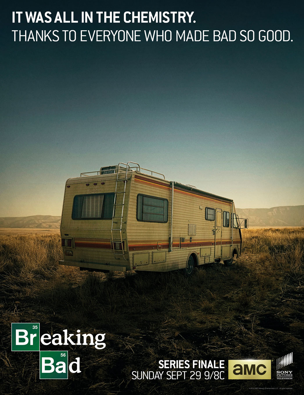 Breaking Bad Thank You Poster - P 2013
