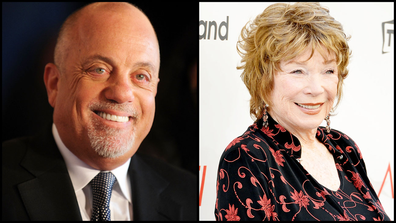 Bill Joel Shirley MacLaine Split - H 2013