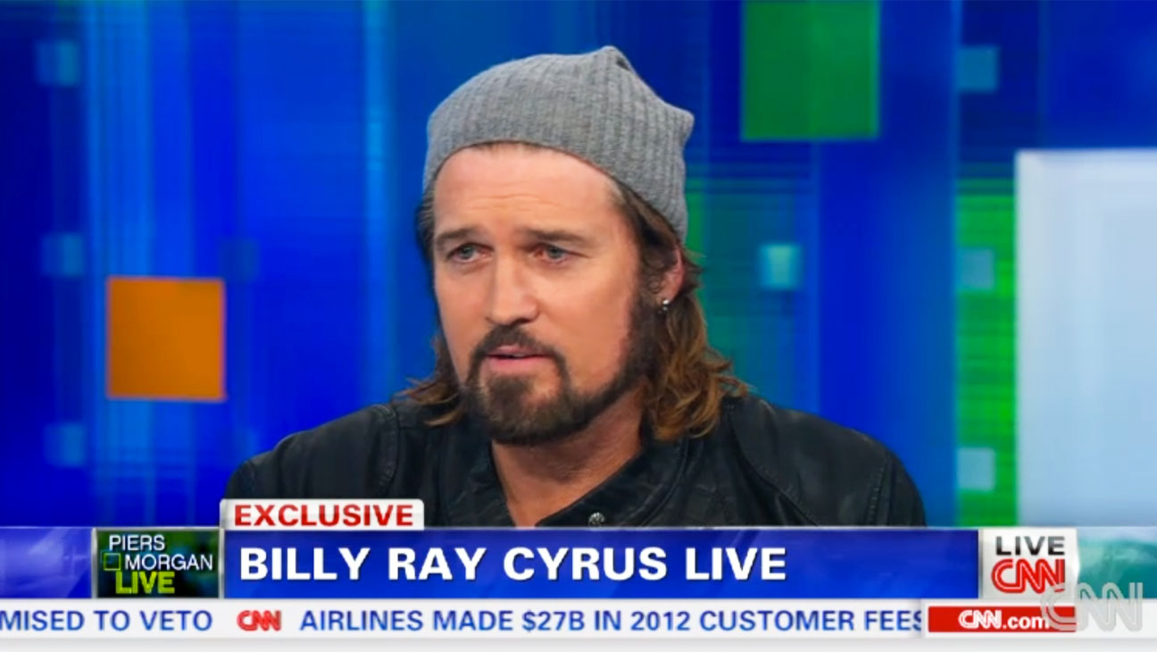Billy Ray Cyrus on Piers Morgan - H 2013