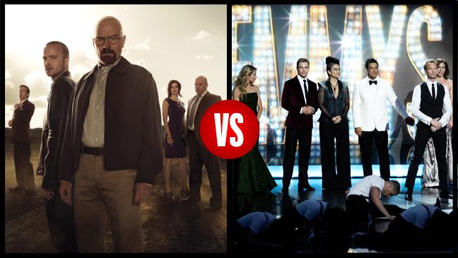 Breaking Bad Vs. Emmys Split - H 2013