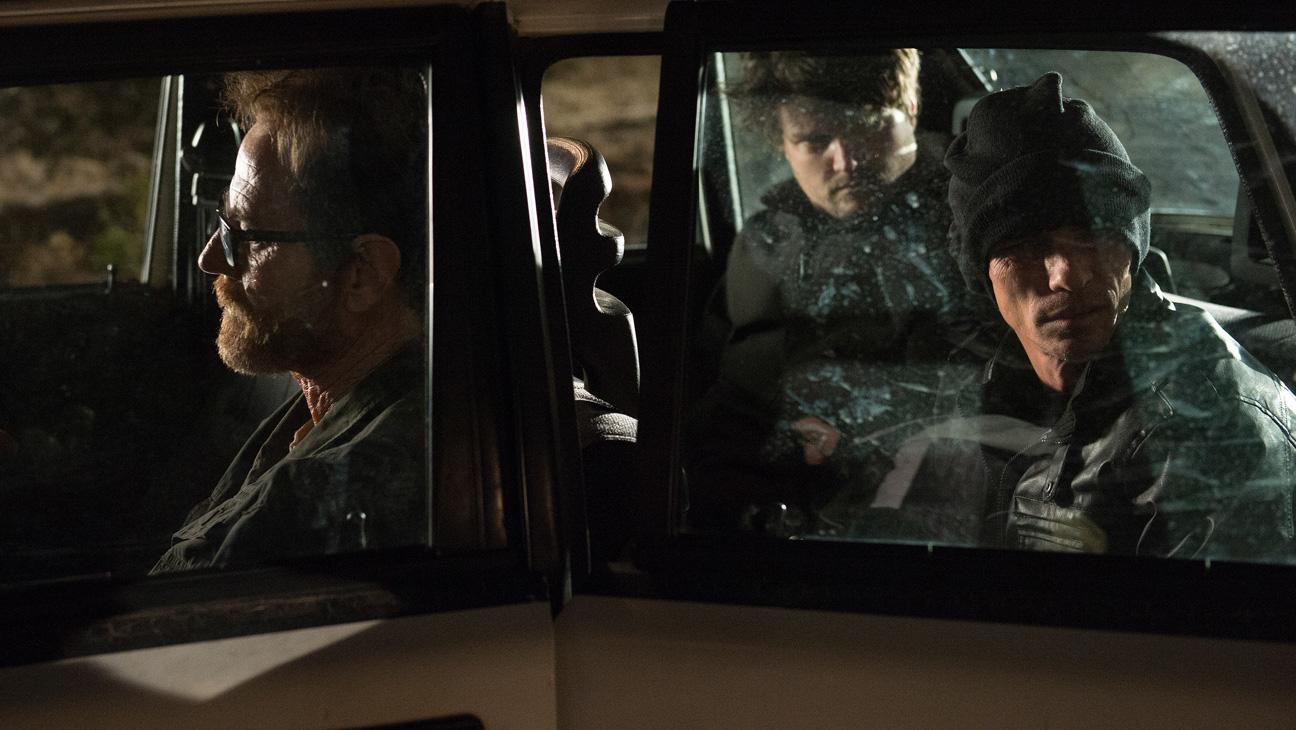 Breaking Bad Series Finale Cranston Skinny Pete in Car - H 2013