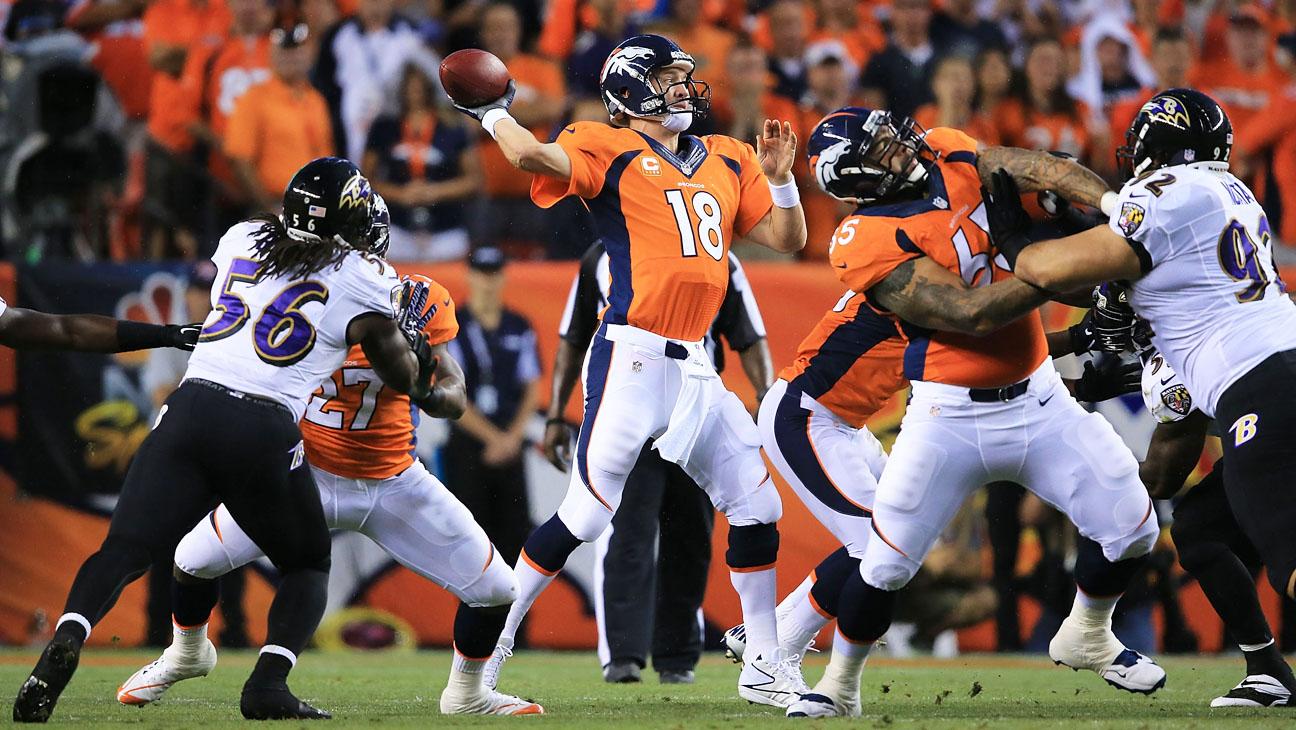 Denver Broncos Baltimore Ravens 9/5 - H 2013