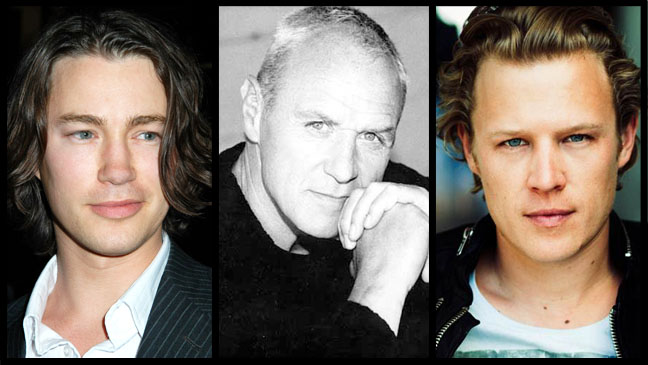Chris Egan Alan Dale Tom WIsdom Split - H 2013