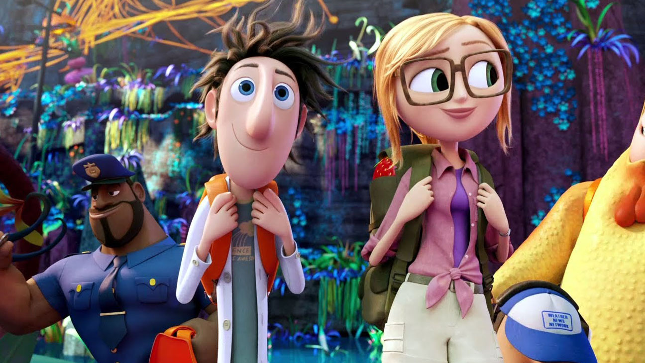 Cloudy with a chance of meatballs 2 Still - H 2013