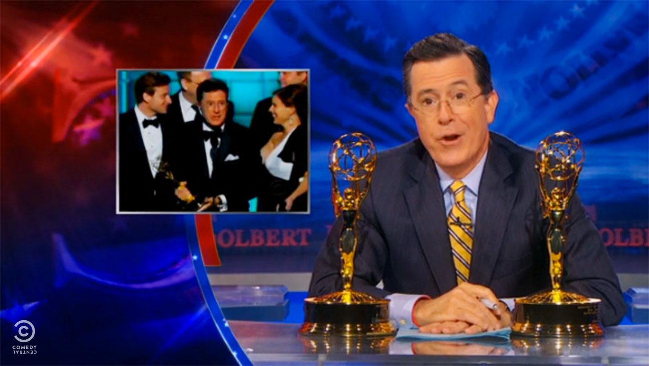 Colbert Report Emmy Win Segment - H 2013