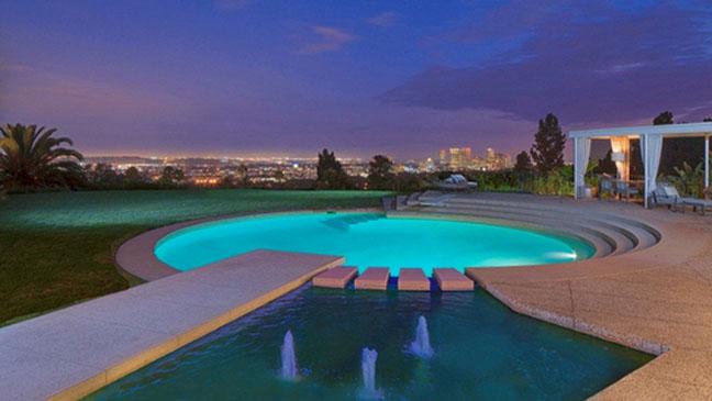 Courtney Cox Beverly Hills Estate - H 2013