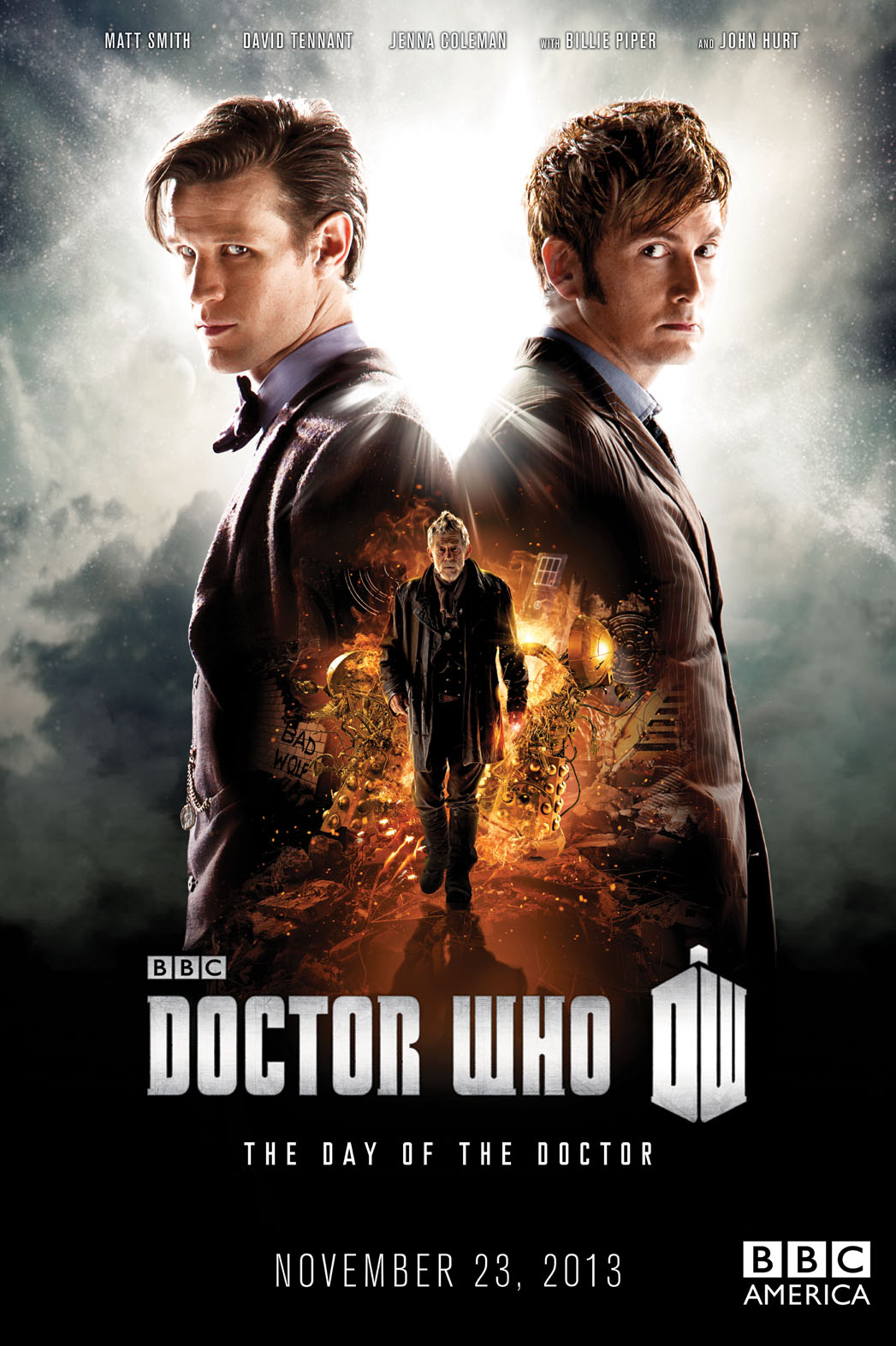 Doctor Who Poster Art - P 2013