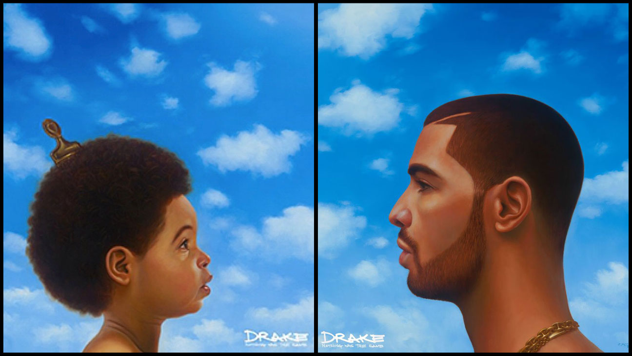 Drake Nothing was the Same Cover Split - H 2013