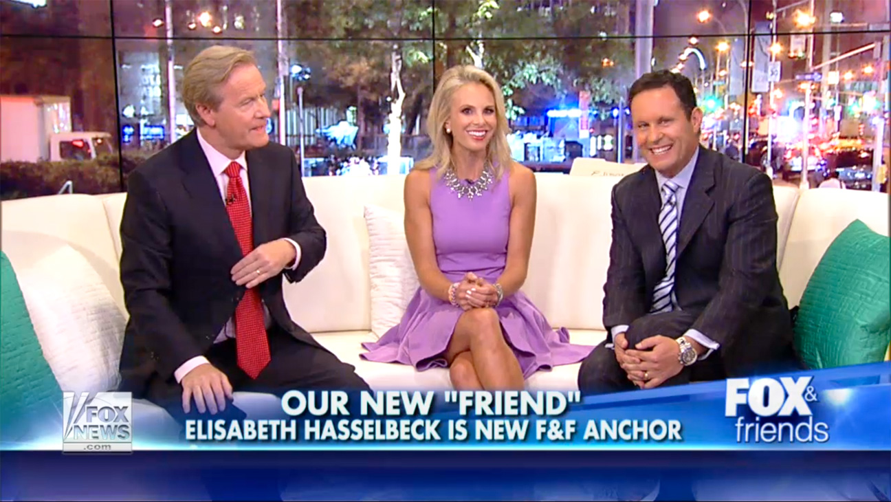 Elisabeth Hasselbeck on Fox and Friends - H 2013