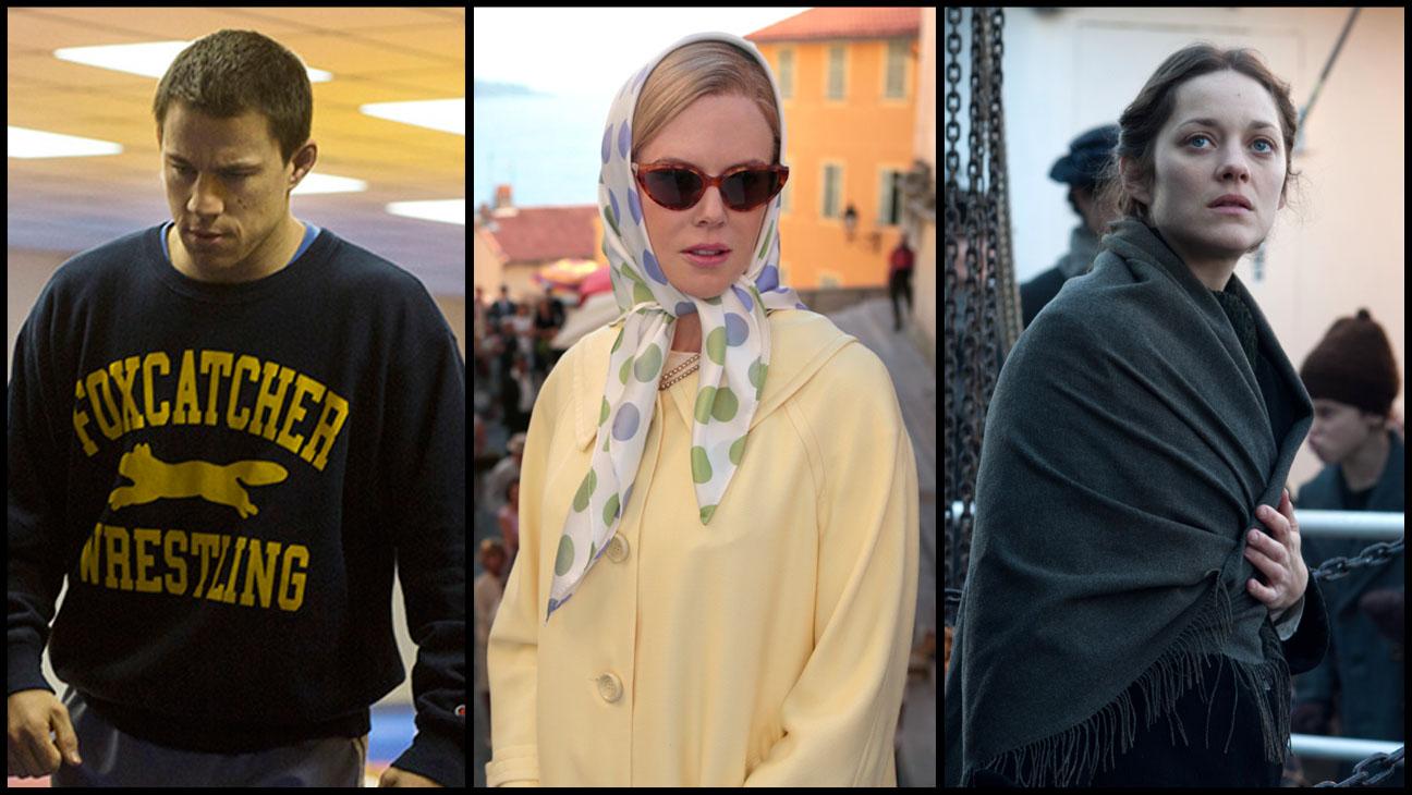 Foxcatcher Grace of Monaco The Immigrant - H 2013