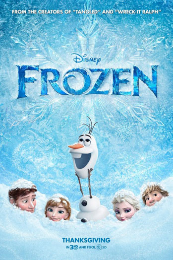 Frozen one sheet - P 2013
