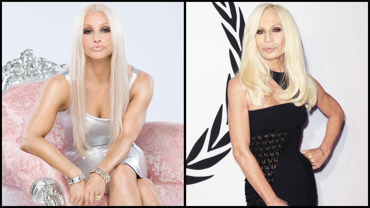 Gina Gershon Donatella Versace Split - H 2013