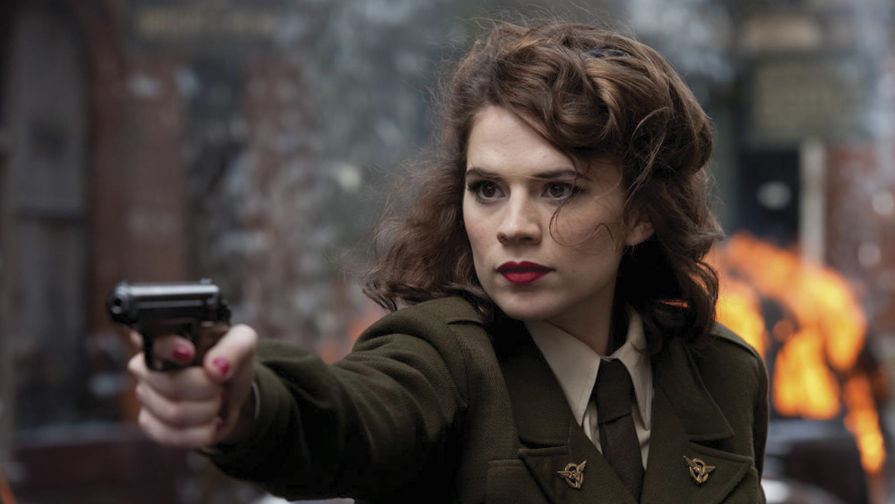 Hayley Atwell in Captain America - H 2013
