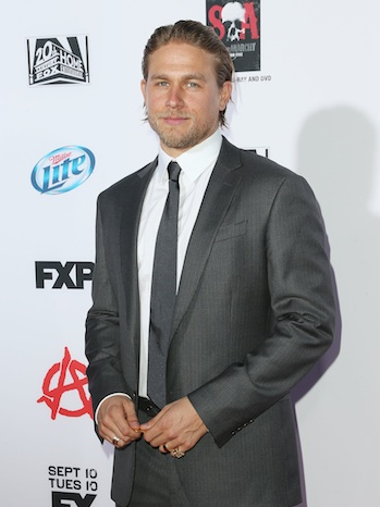 Charlie Hunnam Sons of Anarchy Season 6 Premiere P 2013
