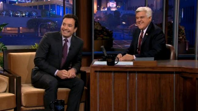 Jimmy Fallon Jay Leno Tonight Show - H 2013