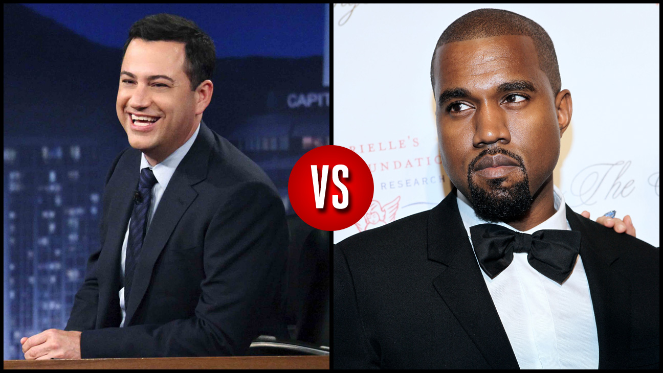 Jimmy Kimmel VS Kanye West Split - H 2013